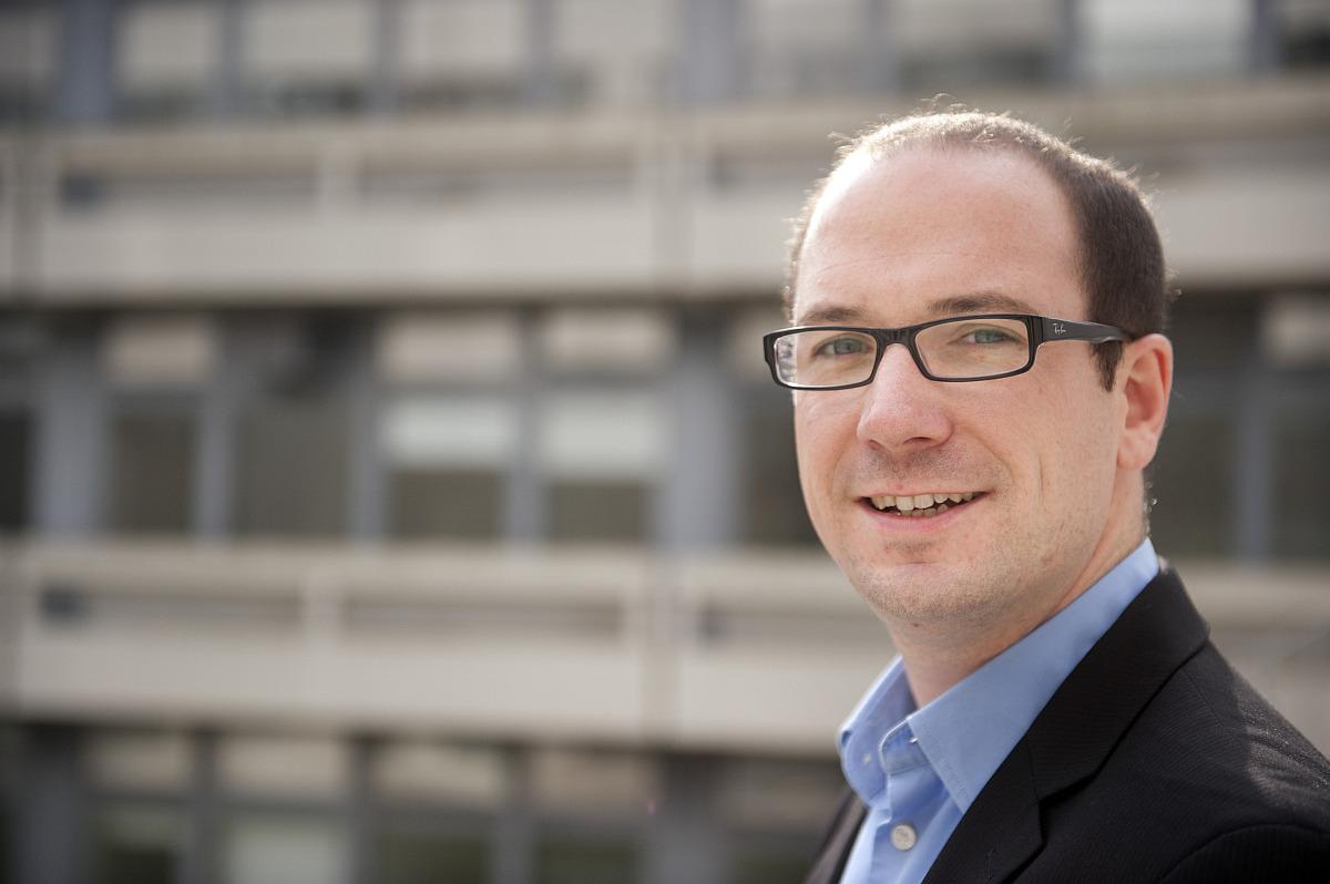 Prof. Dr. Thorsten Holz. Bild: © RUB, Nelle