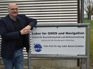 Prof. Eissfeller. Bild: Universität der Bundeswehr München