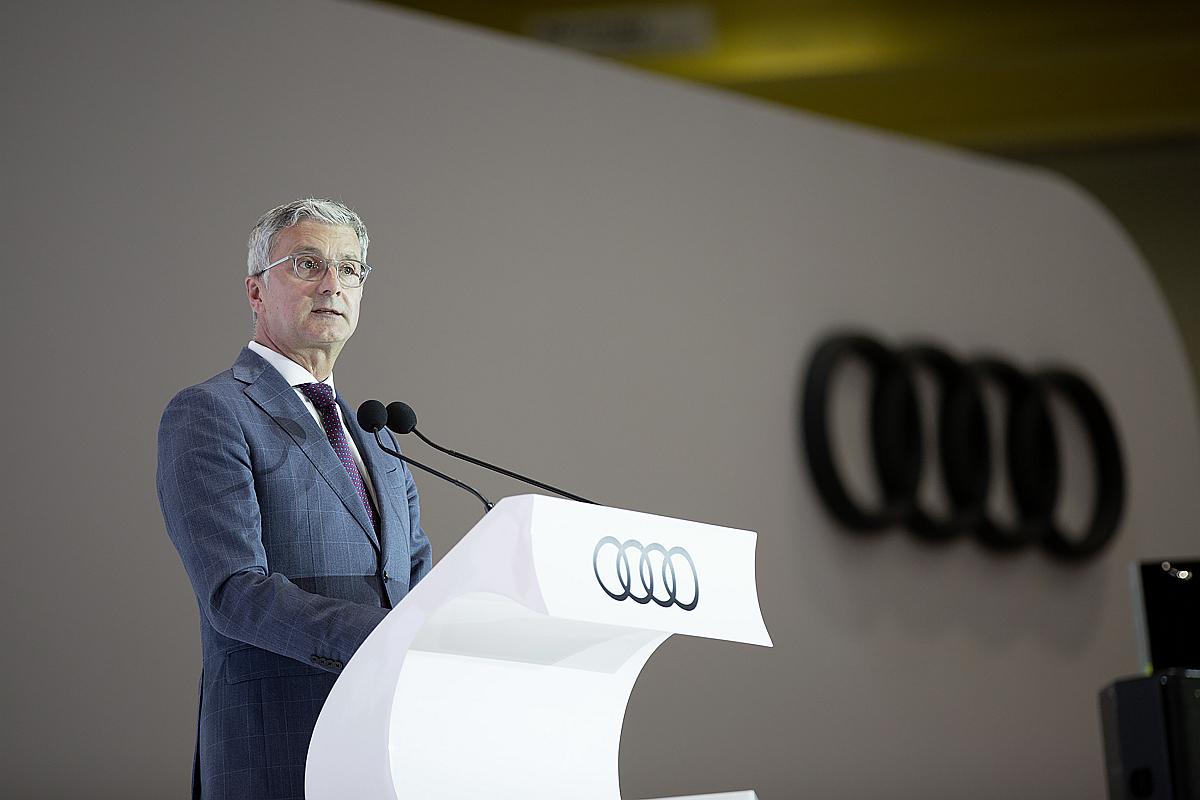 Rupert Stadler, Vorsitzender des Vorstands der Audi AG