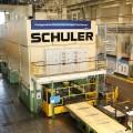 Innerhalb von nur sieben Wochen modernisierte Schuler Transfer und Platinenlader der Großteil-Presse bei Ford in Köln. Bild: Schuler