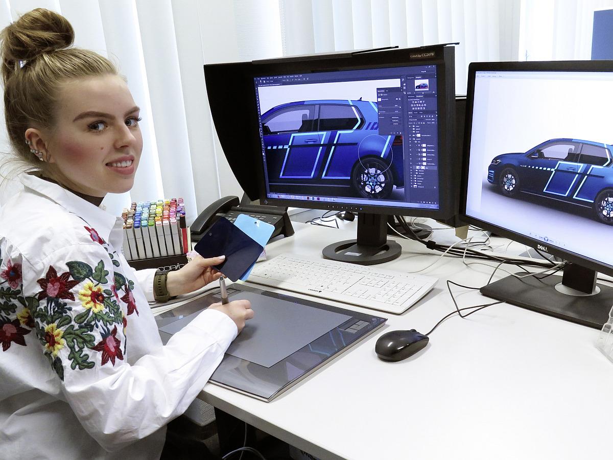 VW-Azubis gestalten mit digitalen Technologien den Wörthersee-GTI 2017