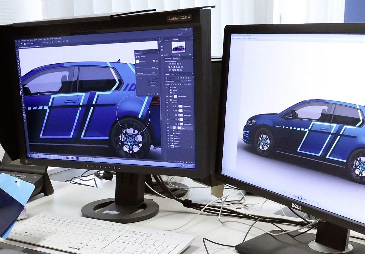 VW-Azubis gestalten mit digitalen Technologien den Wörthersee-GTI 2017 2