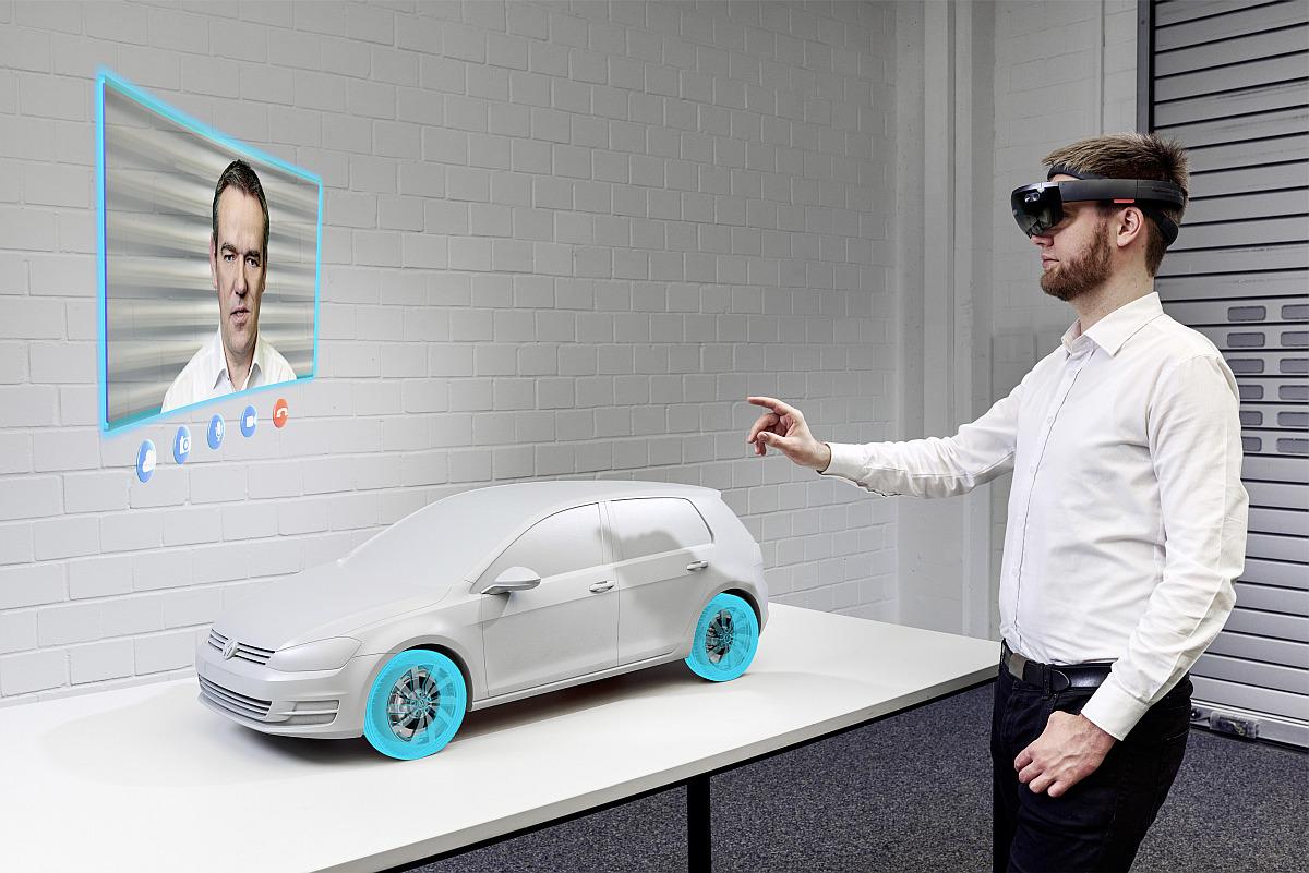 Virtual Engineering Lab So entwickelt Volkswagen das Auto der Zukunft 4