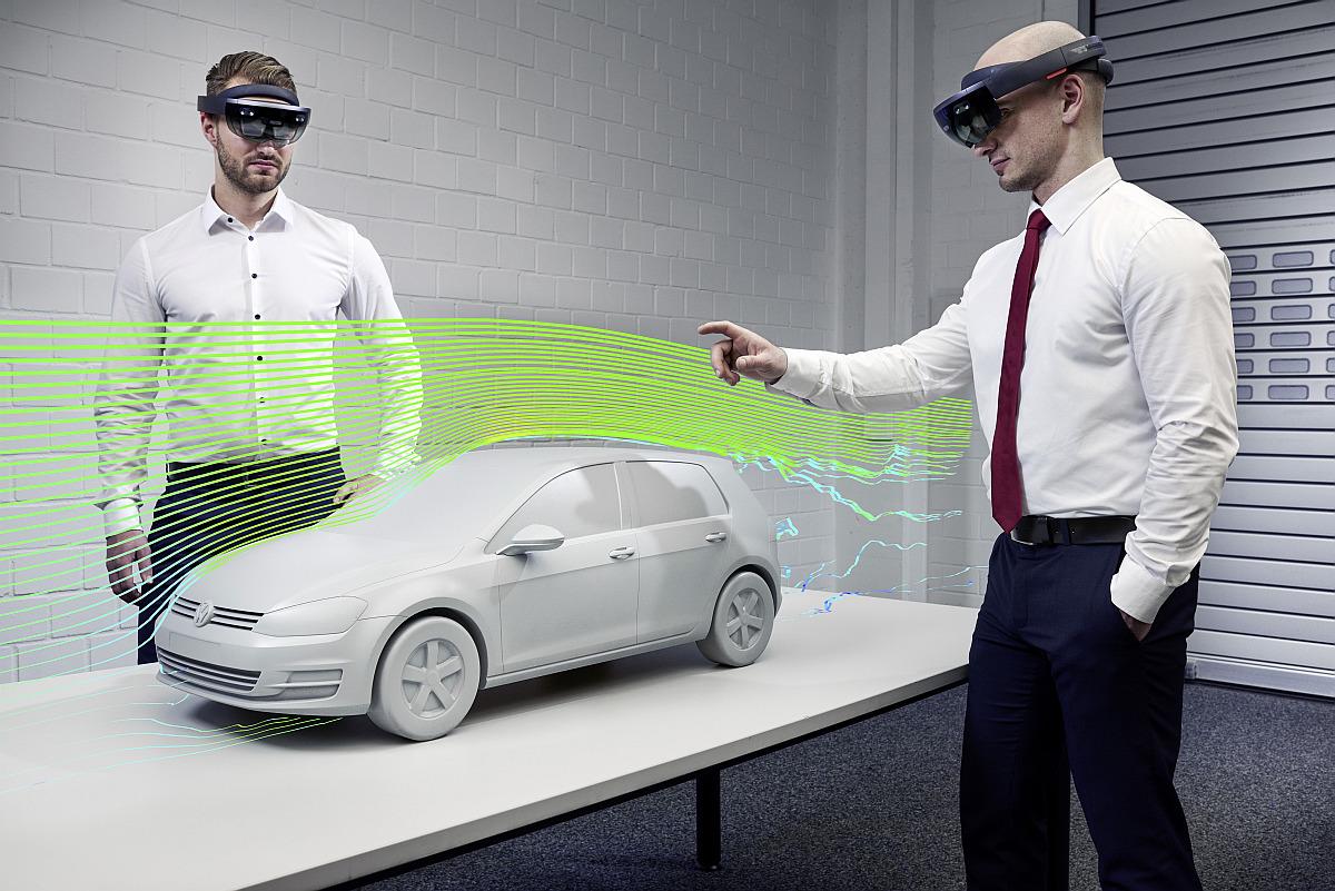 Virtual Engineering Lab So entwickelt Volkswagen das Auto der Zukunft