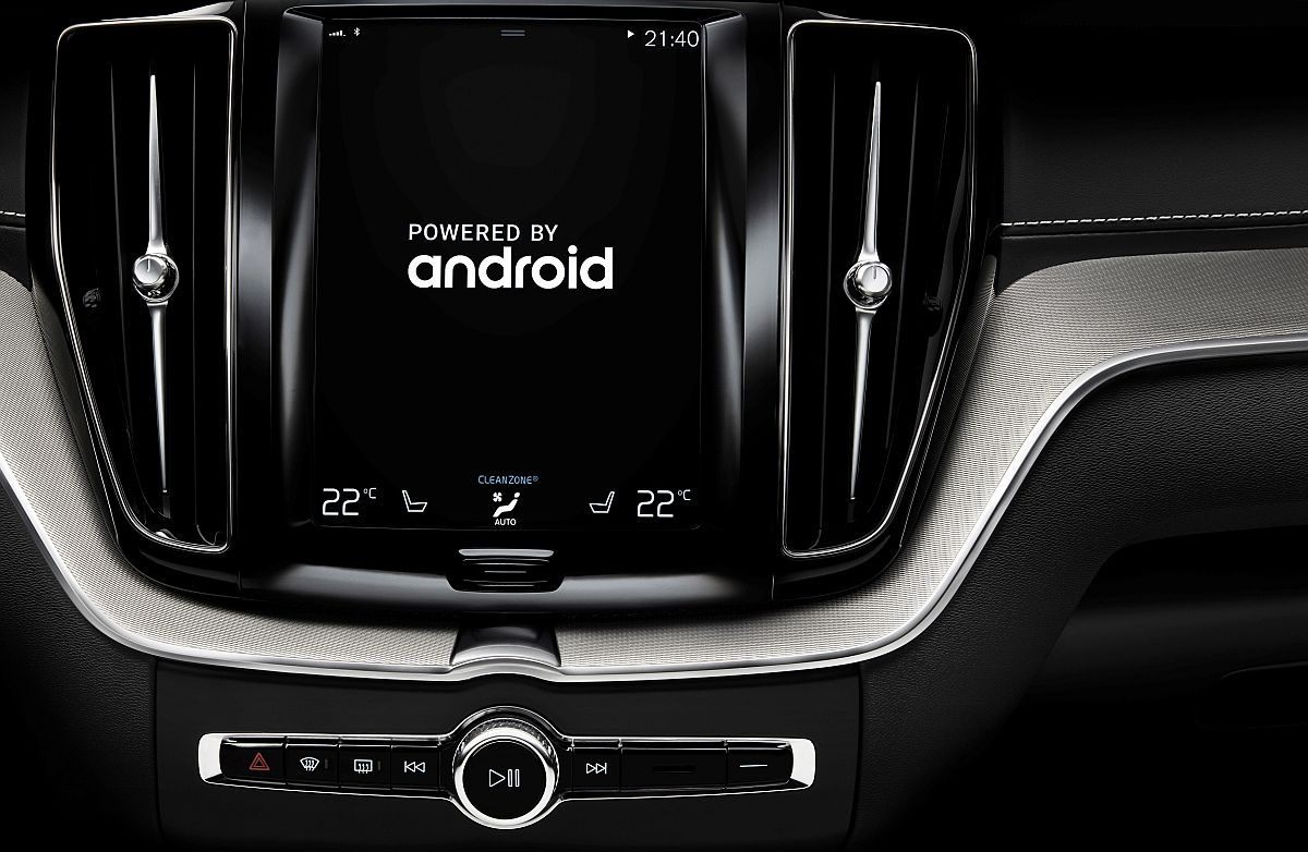 Volvo-Google-Android