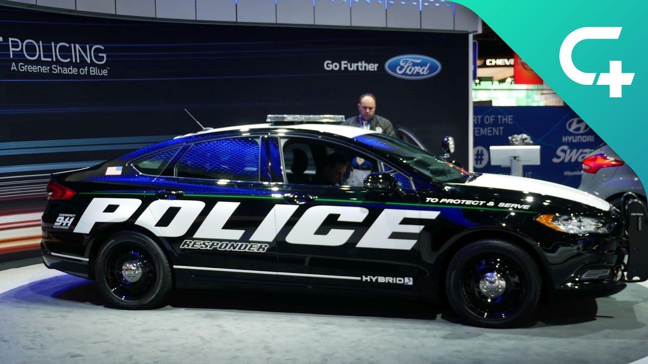 "Ford Police Responder Hybrid Sedan: Erstes US-Hybrid-Polizeiauto mit ""Pursuit Rating"""