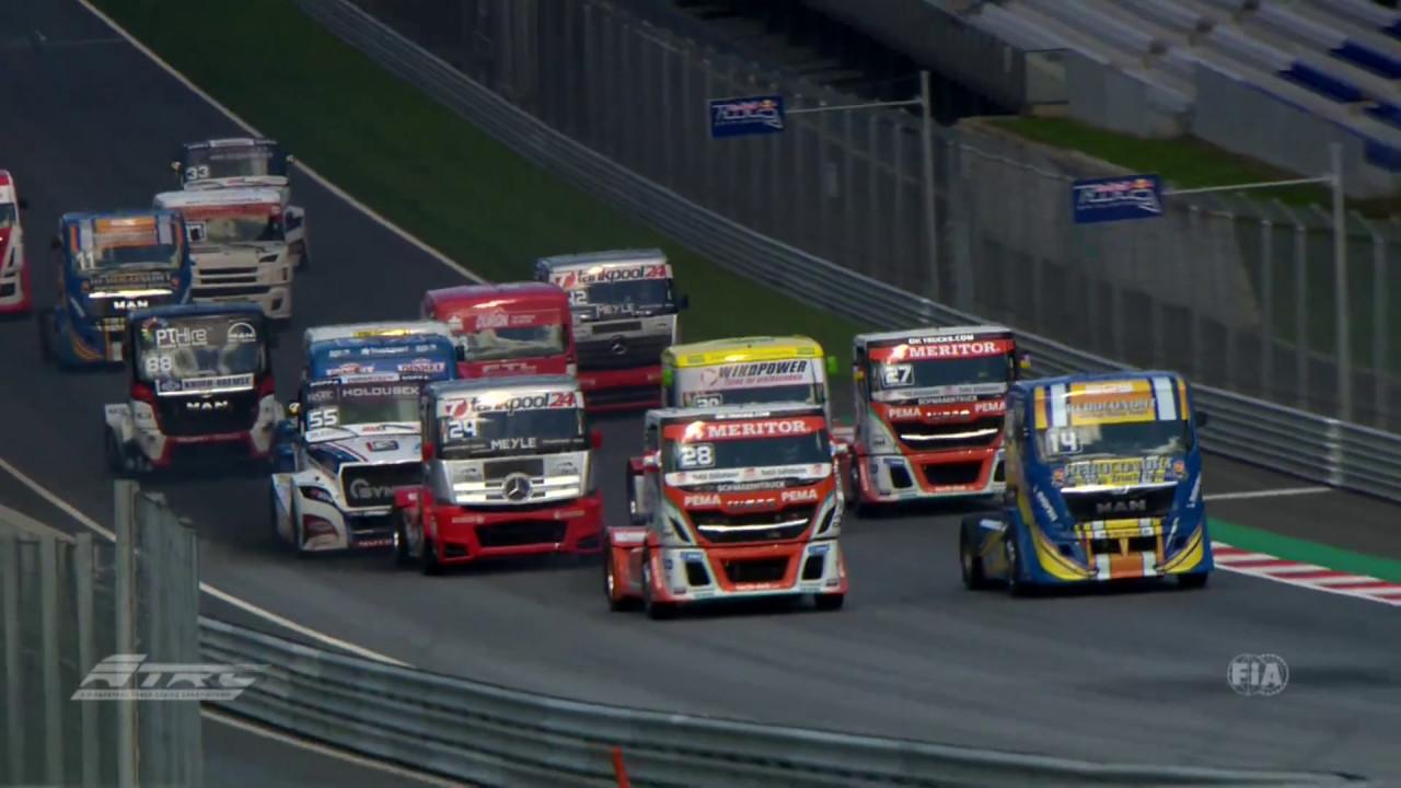 Knorr-Bremse liefert Technologie und Know-How für europäische Truck-Racing-Meisterschaft