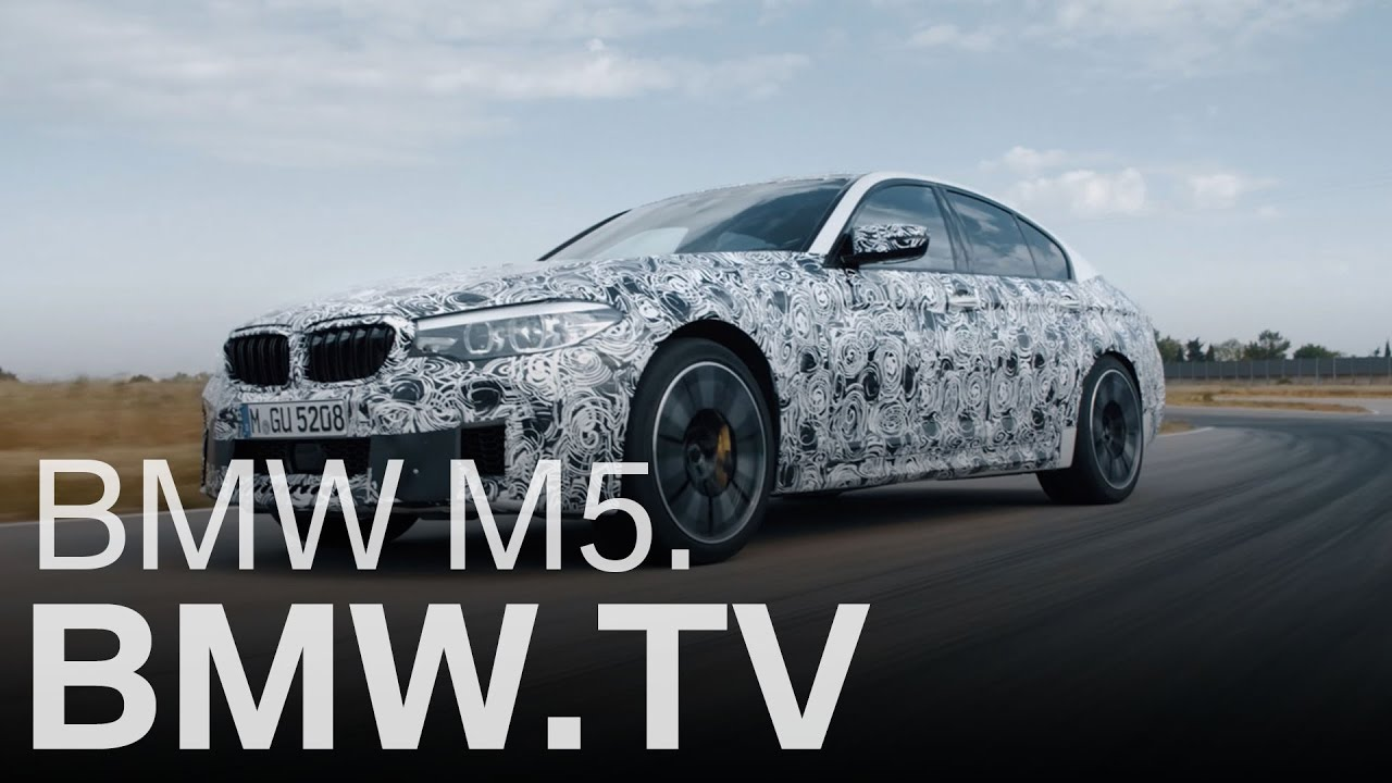 """Neue Technik-Details: Der neue BMW M5 F90 kommt mit neuem Allradsystem """"M xDrive"""""""