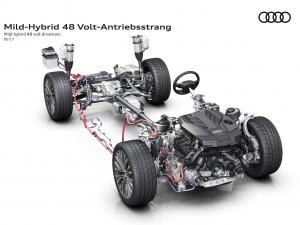 Neuer Audi A8 erhält serienmäßig Mild-Hybrid-Antriebsstrang