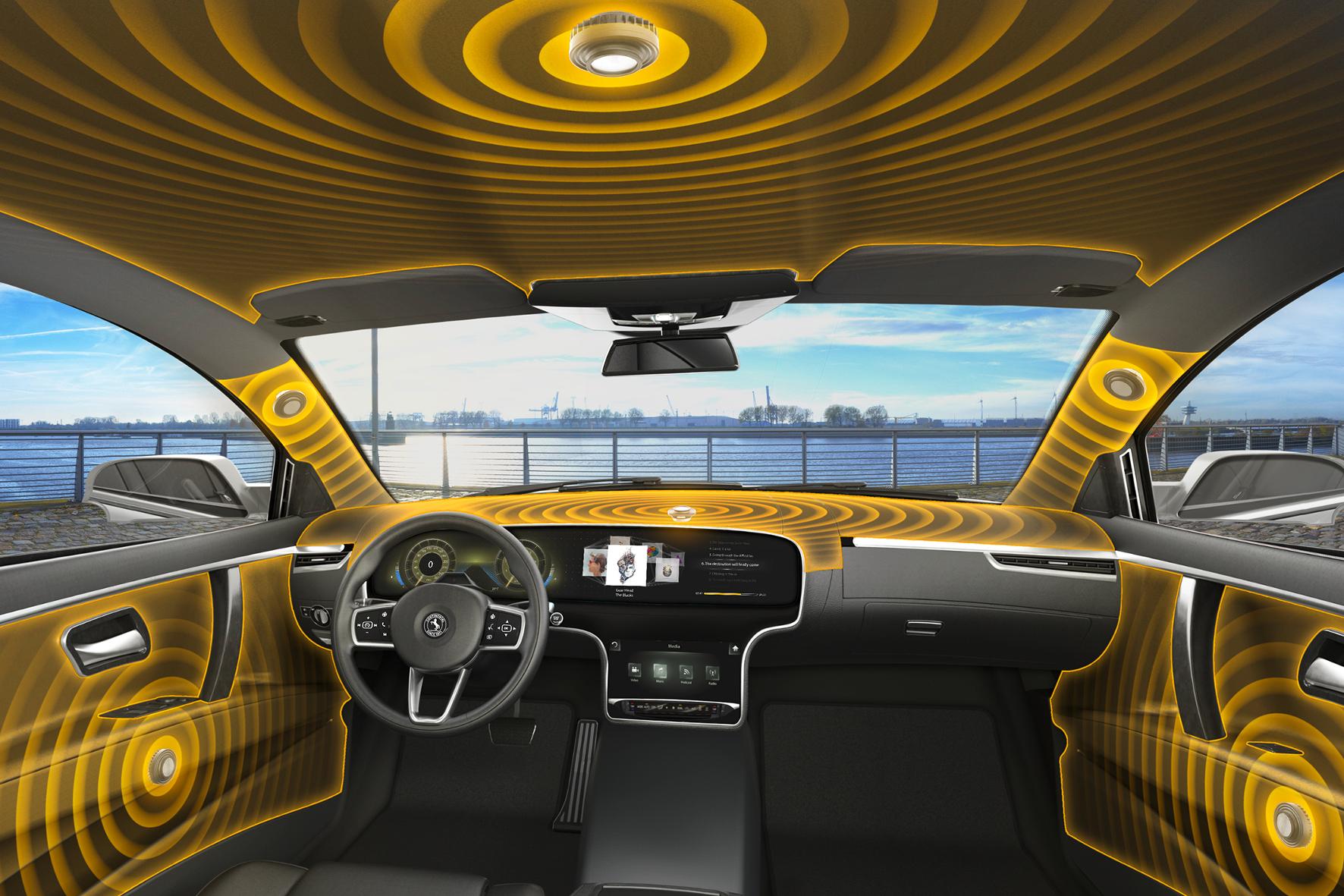 Das Fahrzeug als Klangkörper: Voller Sound - ganz ohne Lautsprecher