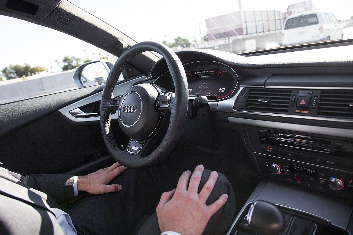 Unternehmen wie Audi testen das hochautomatisierte/autonome Fahren. Bild: Audi