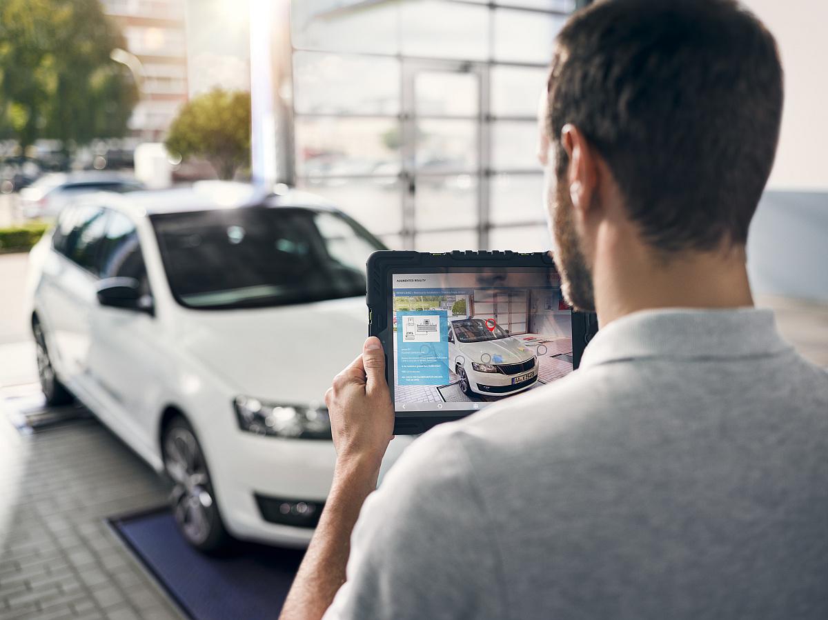 Augmented Reality-Anwendungen eröffnen neue Arbeitsmethoden für die moderne und vernetzte Werkstatt