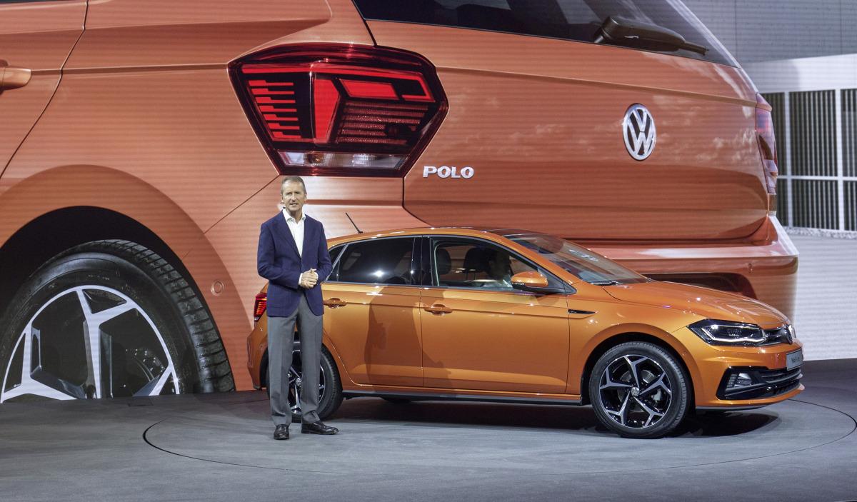 Dr. Herbert Diess, Vorstandsvorsitzender der Marke Volkswagen