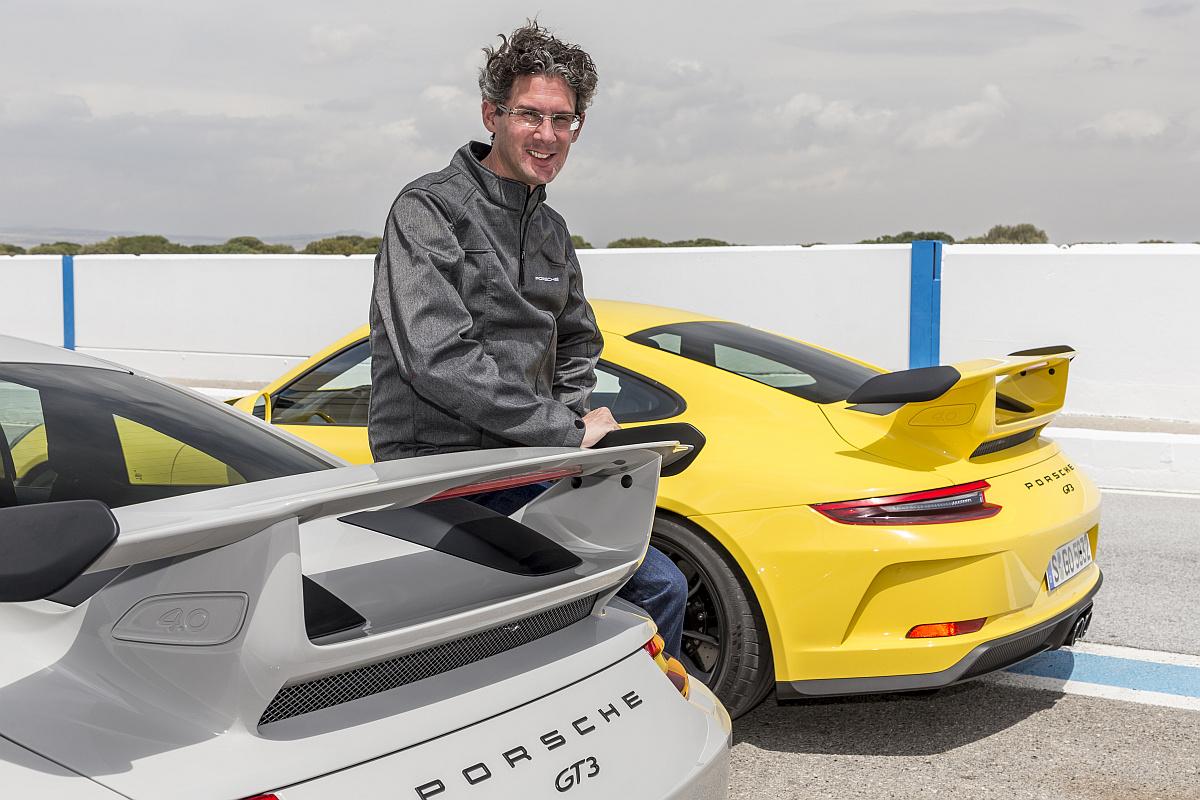 Dr. Frank-Steffen Walliser, Leiter Motorsport und GT-Fahrzeuge