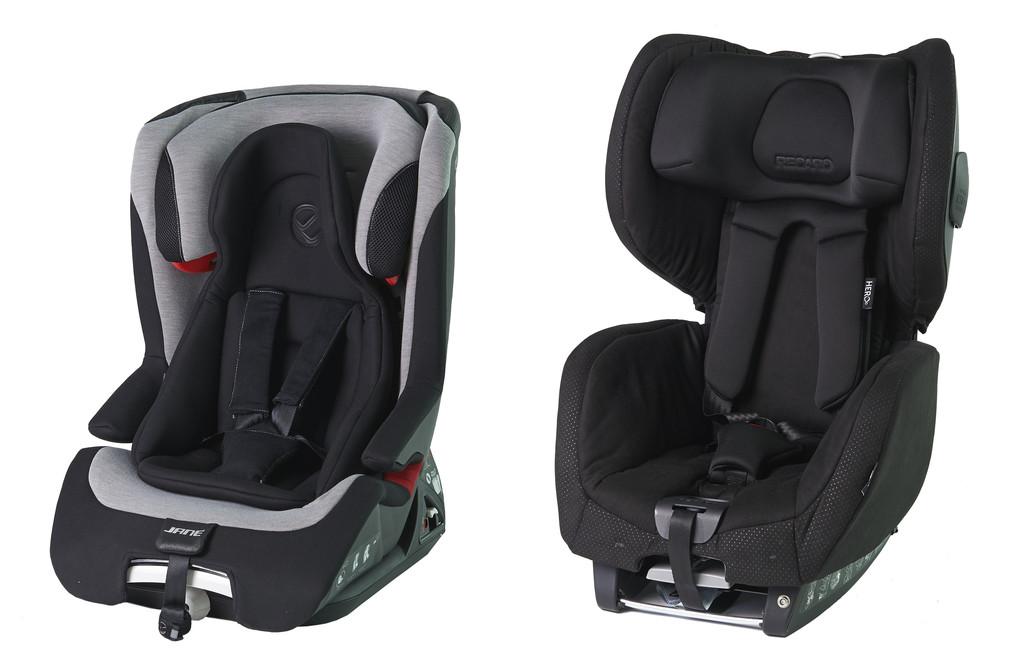 Kindersitz-Crashtest des ADAC: Zwei Kindersitze sind ein Sicherheitsrisiko