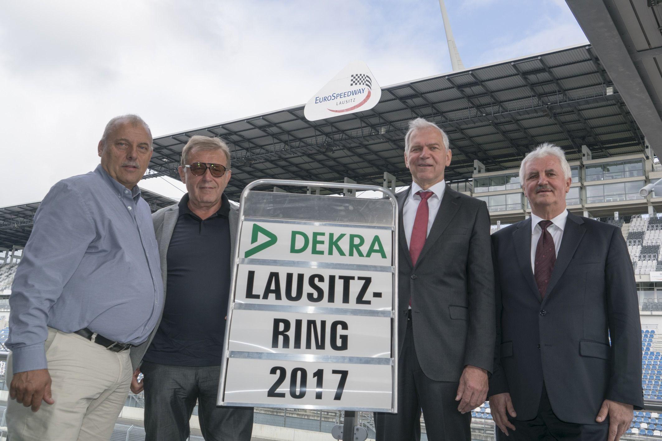 Testzentrum für das automatisierte und vernetzte Fahren: Dekra übernimmt Lausitzring