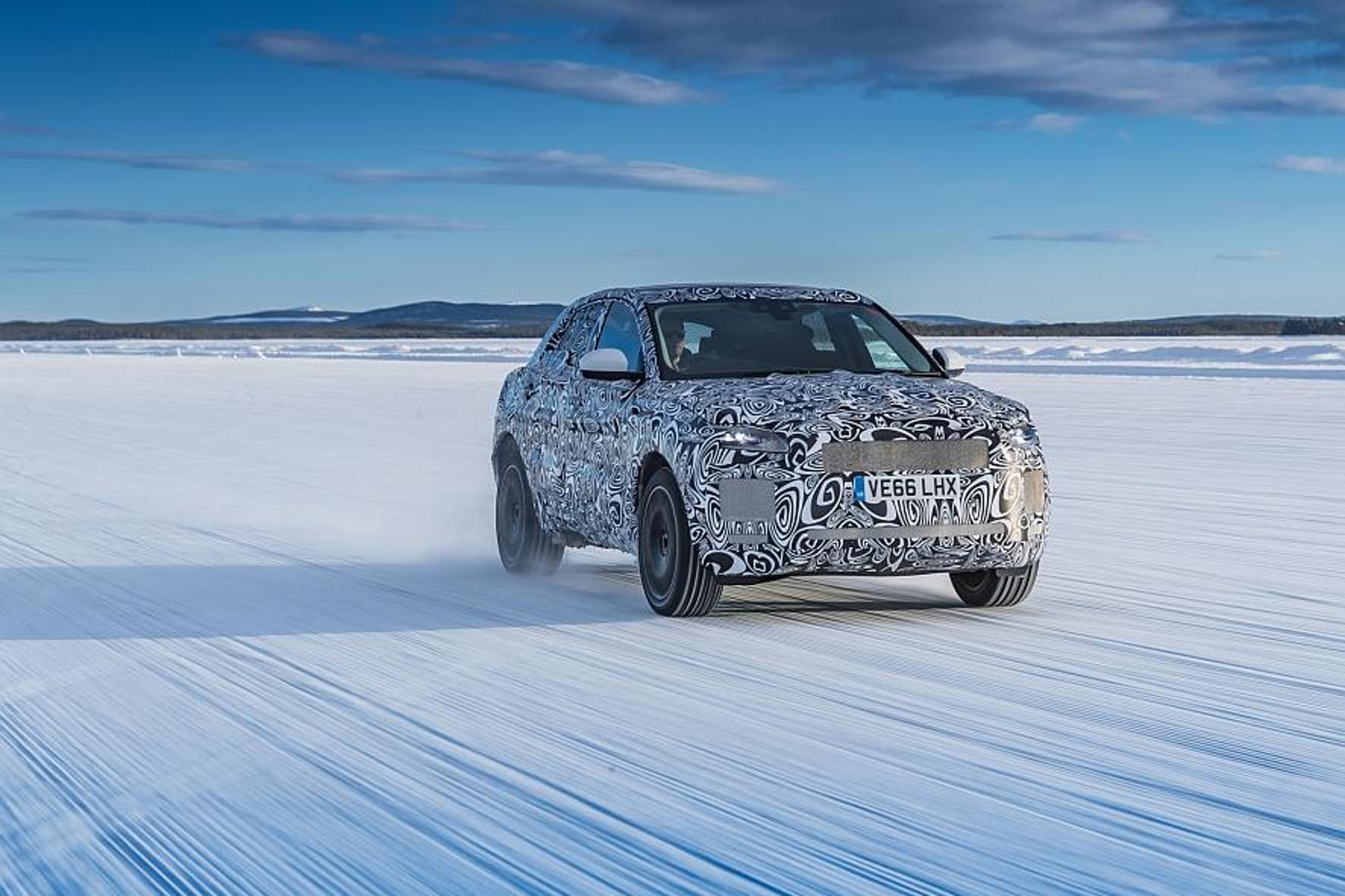 Jaguar E-Pace: 120.000 Teststunden mit 150 Prototypen