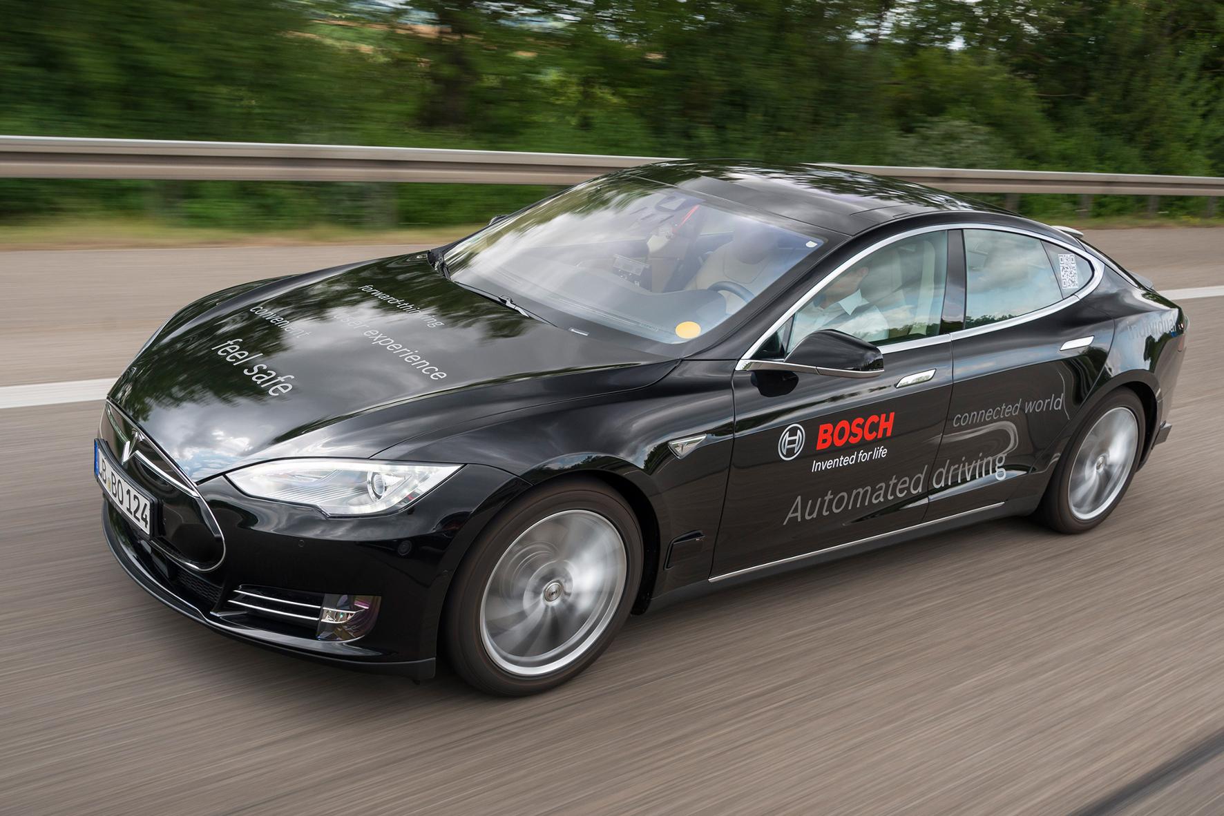 Bosch und die Roboter-Taxis
