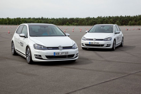 VW Golf mit dem CO2-Lighthouse Diesel-Engine