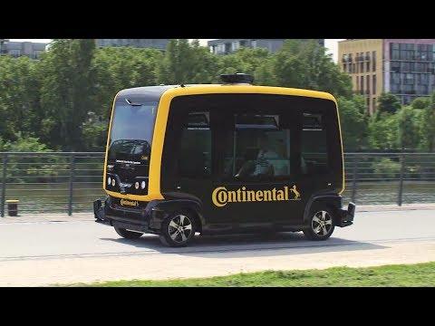 Continental treibt Technologien für autonomes Fahren an
