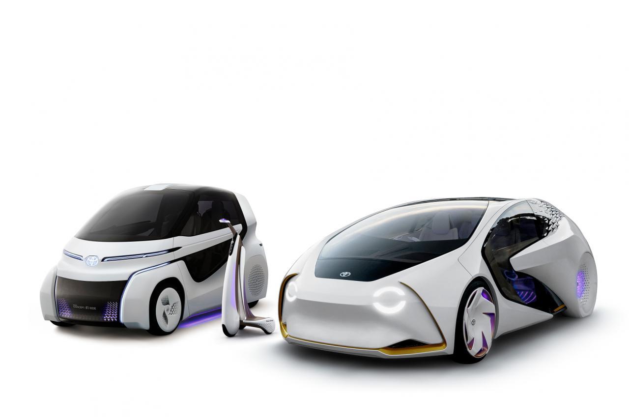 Toyotas Concept-i-Familie: E-Mobile für jeden Einsatzzweck