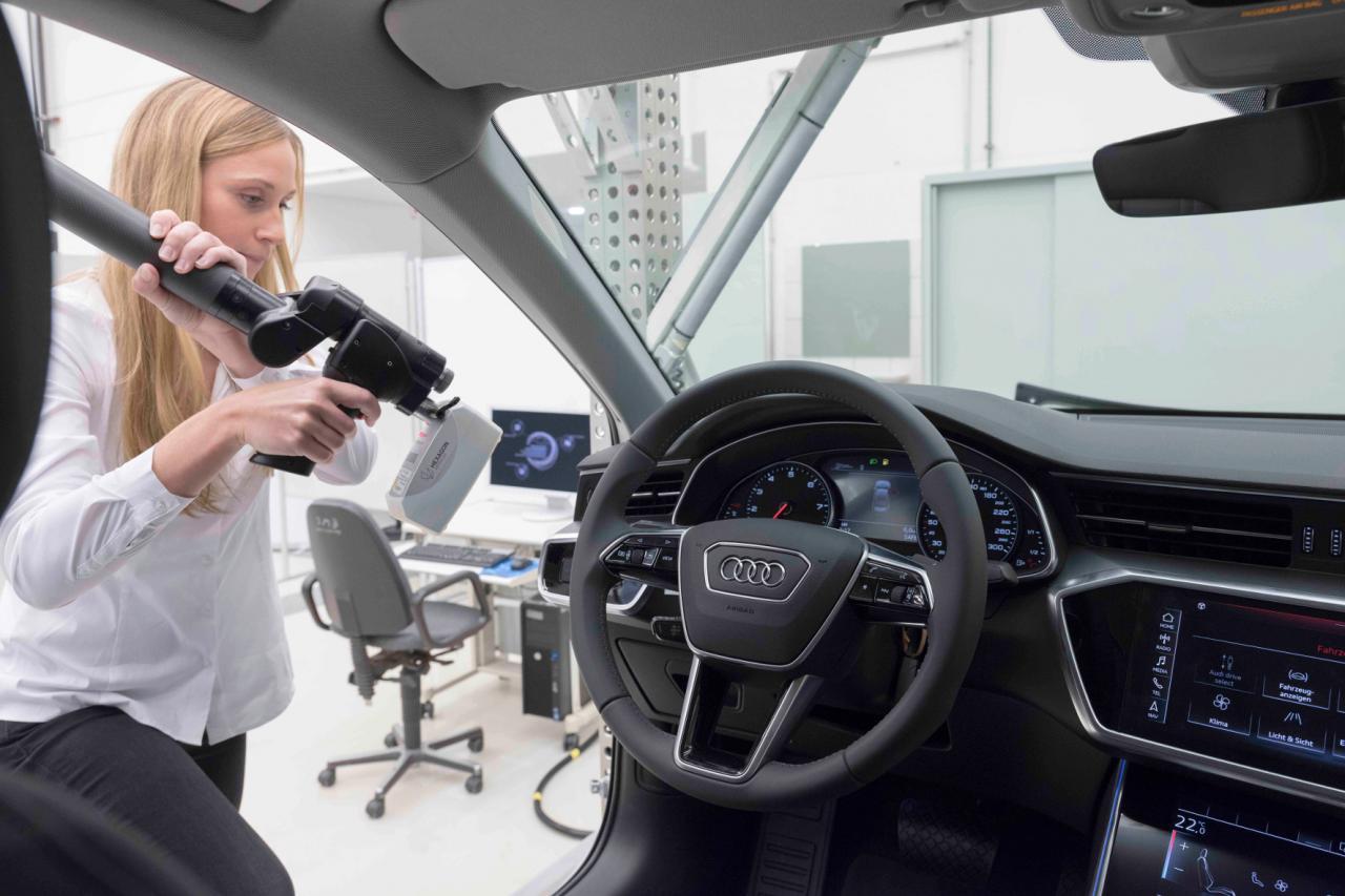 Ein Besuch in Audis Qualitätssicherung