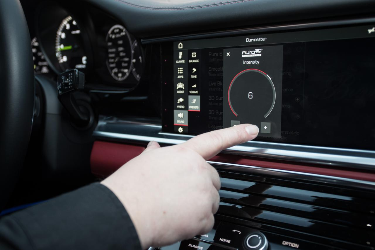 Porsche und Burmester: Auf der Suche nach dem perfekten Ton